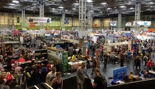 The hall at Games Expo